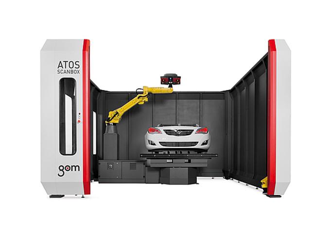 ATOS ScanBox立式加工中心