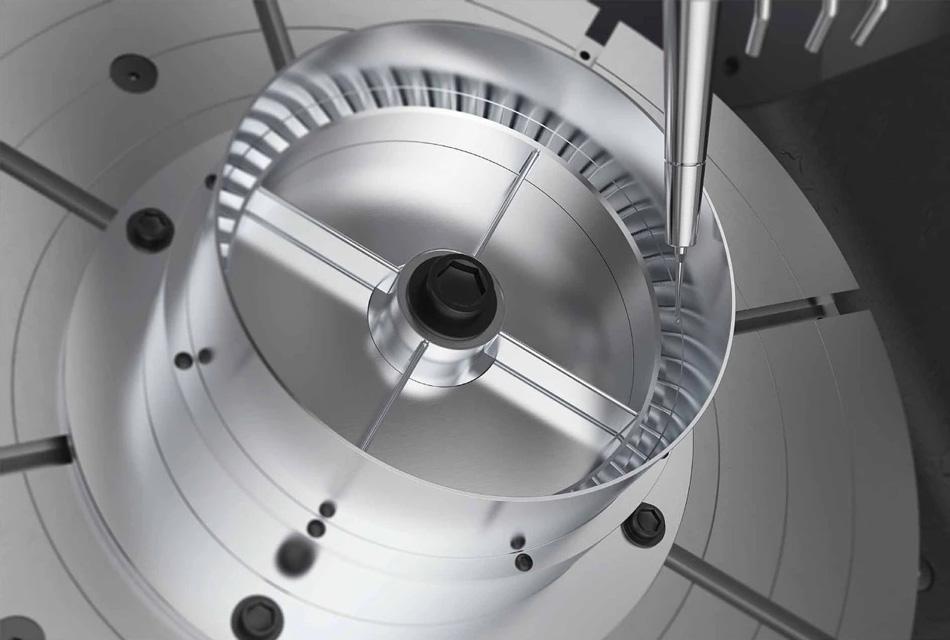 航空闭式叶盘的加工检测方案