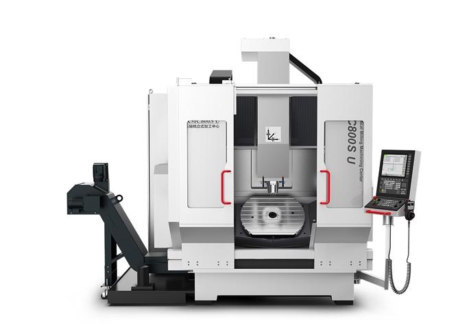 KMC800S U立式铣削五轴加工中心